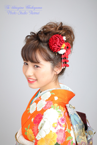 20181109 新作髪飾り