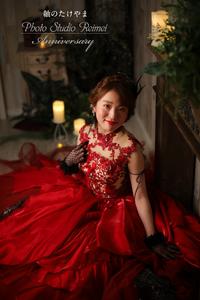 成人式前撮り 新作ドレス
