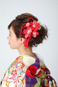 成人式 髪飾り レトロ系